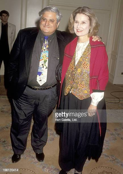 Actor Michael Lerner and Actress Diane Baker attend the Screen Actors Guild Foundation's Jack Oakie Awards on November 11 1994 at Beverly Wilshire...