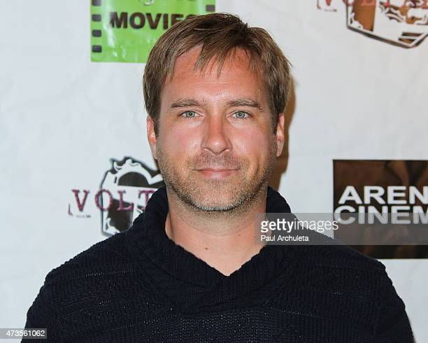 Actor Michael Madison attends the premiere of 'Miles To Go' at Arena Cinema Hollywood on May 15 2015 in Hollywood California