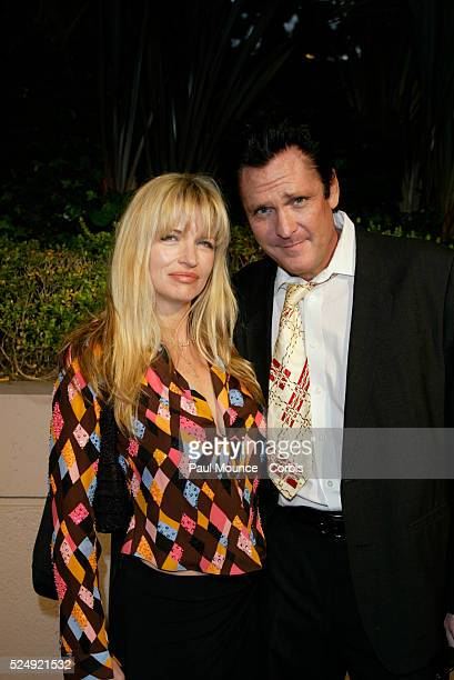 Actor Michael Madsen and wife Diana arrive at the Miramax PreOscar 2004 Max Awards party at the St Regis Hotel