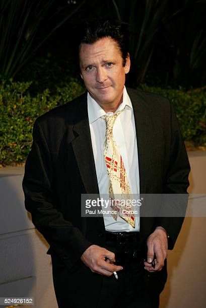 Actor Michael Madsen arrives at the Miramax PreOscar 2004 Max Awards party at the StRegis Hotel
