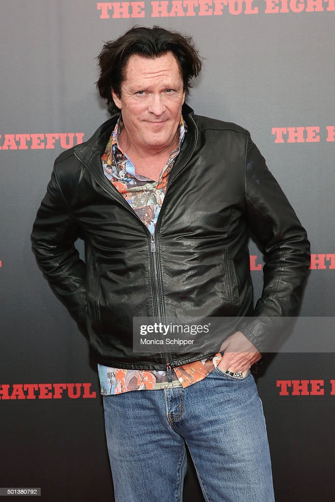 Actor Michael Madsen attends the The New York Premiere Of 'The Hateful Eight' on December 14, 2015 in New York City.
