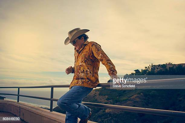 Actor Michael Madsen is photographed for the Independent on December 4 2015 in Los Angeles California