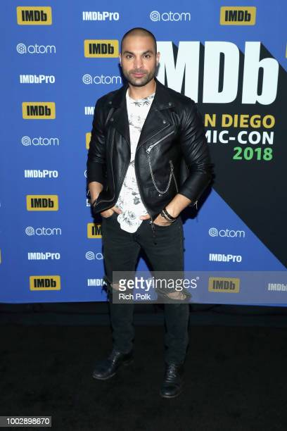 Actor Michael Mando attends the #IMDboat At San Diego ComicCon 2018 Day Two at The IMDb Yacht on July 20 2018 in San Diego California