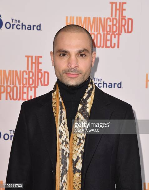 Actor Michael Mando attends the 'The Hummingbird Project' New York screening at Metrograph on March 11 2019 in New York City