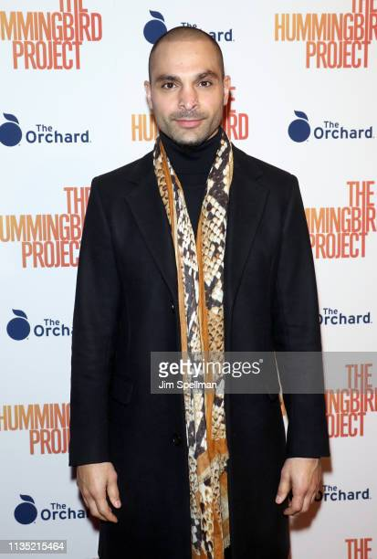 Actor Michael Mando attends the The Hummingbird Project New York screening at Metrograph on March 11 2019 in New York City