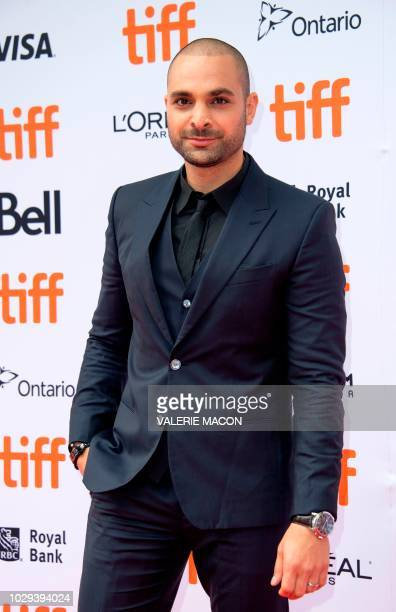Actor Michael Mando attends the 'The Hummingbird Project' premiere during the Toronto International Film Festival on September 8 in Toronto Ontario...