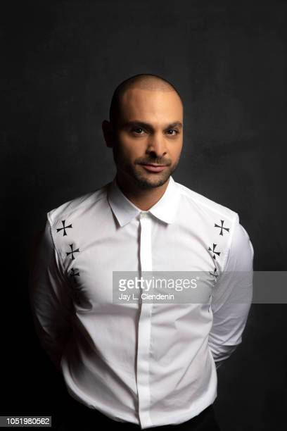 Actor Michael Mando from 'The Hummingbird Project' is photographed for Los Angeles Times on September 9 2018 in Toronto Ontario PUBLISHED IMAGE...
