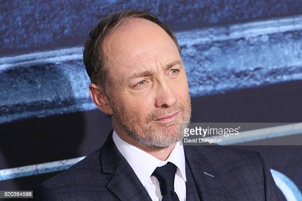 "Actor Michael McElhatton arrives at the premiere of HBO's ""Game of Thrones"" Season 6 at the TCL Chinese Theatre on April 10, 2016 in Hollywood,..."