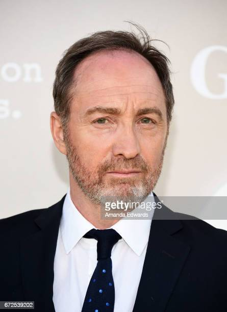 Actor Michael McElhatton arrives at the premiere of National Geographic's 'Genius' at the Fox Bruin Theater on April 24 2017 in Los Angeles California