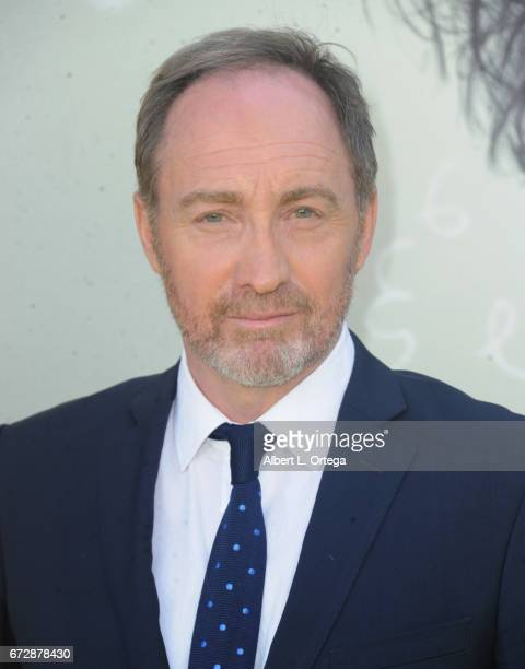 Actor Michael McElhatton arrives for the Premiere Of National Geographic's 'Genius' held at Fox Bruin Theater on April 24 2017 in Los Angeles...