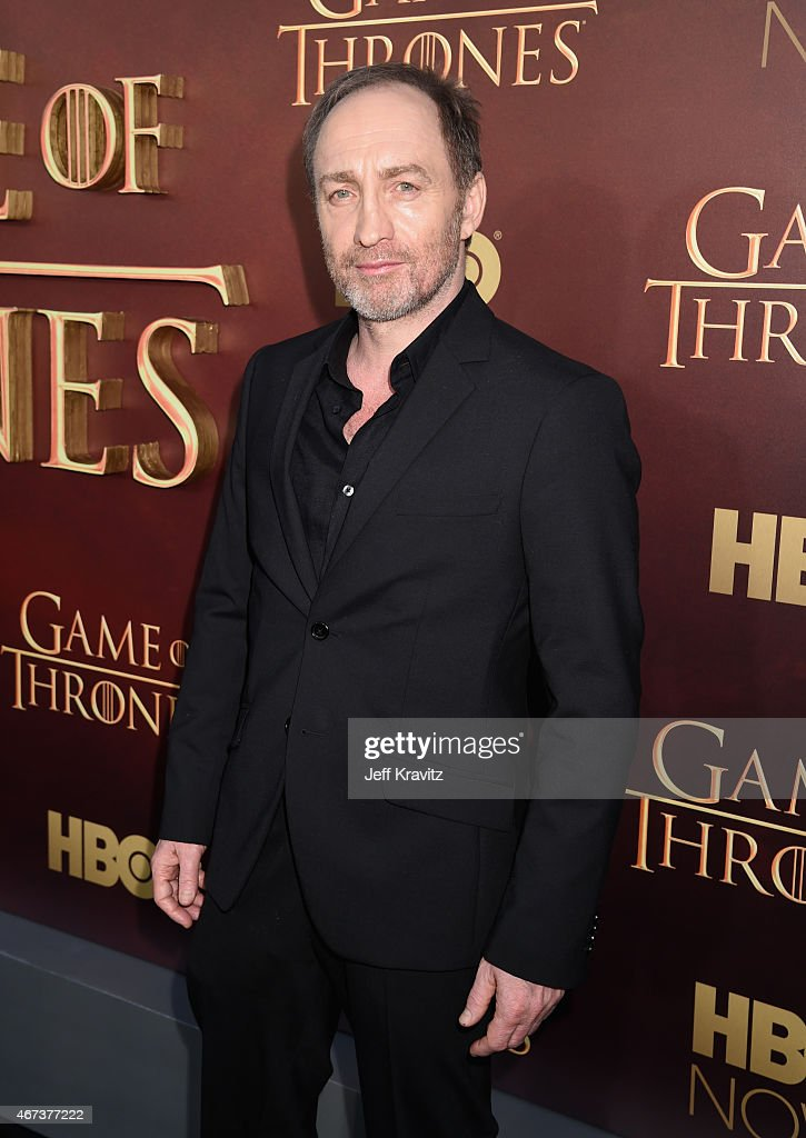 Actor Michael McElhatton attends HBO's 'Game of Thrones' Season 5 Premiere and After Party at the San Francisco Opera House on March 23, 2015 in San Francisco, California.