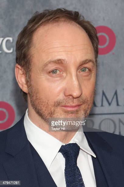 Actor Michael McElhatton attends the Game Of Thrones Season 4 premiere at Avery Fisher Hall Lincoln Center on March 18 2014 in New York City