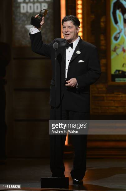 Actor Michael McGrath onstage at the 66th Annual Tony Awards at The Beacon Theatre on June 10 2012 in New York City