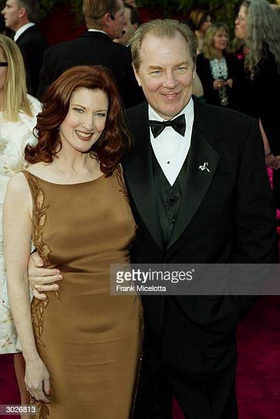 Actor Michael McKean and his wife Annette O'Toole attend the 76th Annual Academy Awards at the Kodak Theater on February 29, 2004 in Hollywood,...
