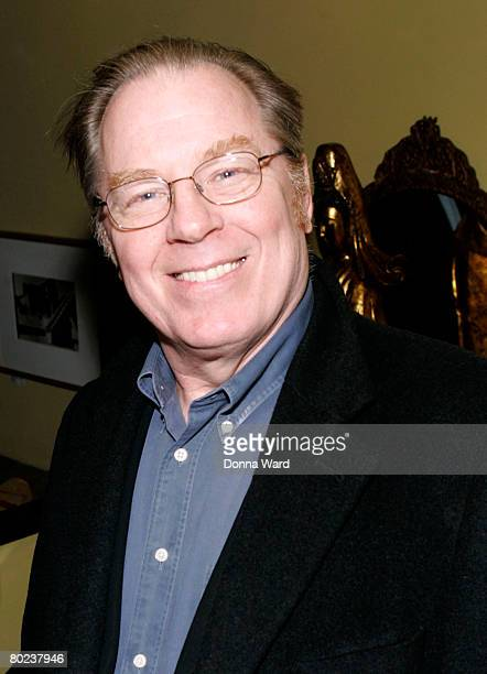 """Actor Michael McKean poses before attending the after-party for """"The Seagull"""" at Pangea on March 13, 2008 in New York City."""