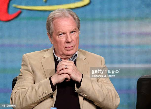 Actor Michael McKean speaks onstage during the 'Better Call Saul ' panel at the AMC portion of the 2015 Winter Television Critics Association press...