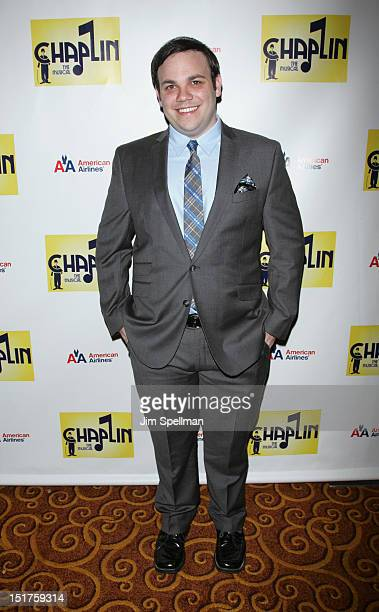 Actor Michael Mendez attends the Chaplin Broadway opening night after party at Gotham Hall on September 10 2012 in New York City
