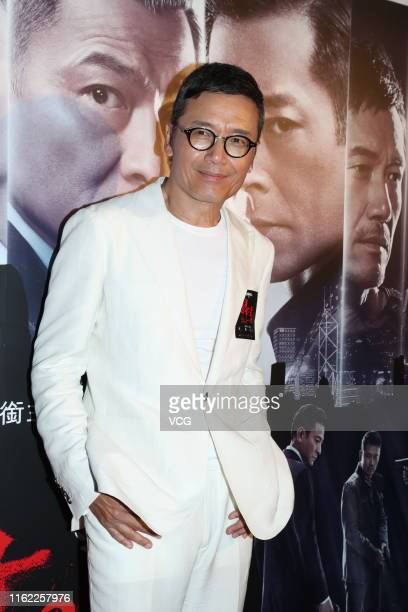 Actor Michael Miu Kiuwai attends the premiere of film 'The White Storm 2 Drug Lords' on July 15 2019 in Hong Kong China