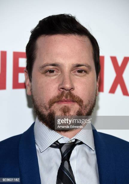 Actor Michael Mosley arrives at Netflix's 'Seven Seconds' Premiere at The Paley Center for Media on February 23 2018 in Beverly Hills California