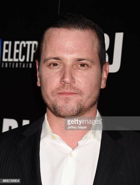 Actor Michael Mosley arrives at the premiere of Electric Entertainment's 'LBJ' at the Arclight Theatre on October 24 2017 in Los Angeles California