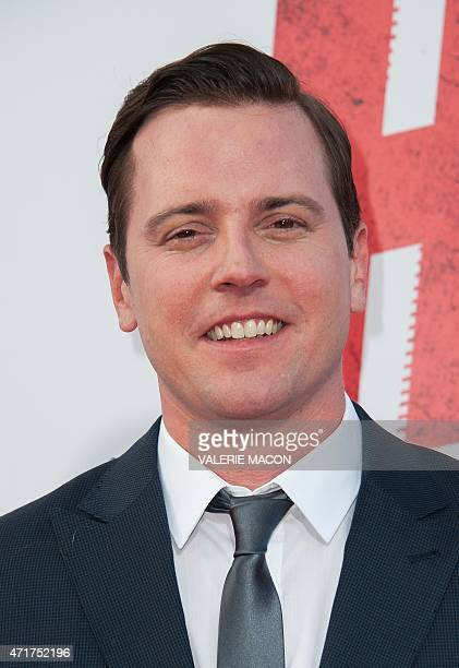 Actor Michael Mosley arrives for the premiere of Hot Pursuit on April 30th 2015 in Los Angeles California AFP PHOTO / Valerie Macon