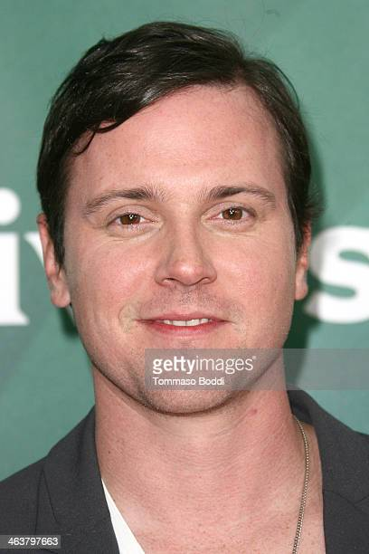 Actor Michael Mosley attends the NBC/Universal 2014 TCA Winter Press Tour held at The Langham Huntington Hotel and Spa on January 19 2014 in Pasadena...