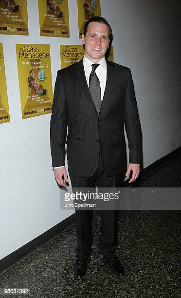 Actor Michael Mosley attends the opening night of 'The Glass Menagerie' after party at the Roundabout Theatre Company's Laura Pels Theatre on March...