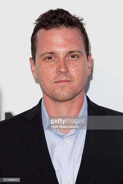 Actor Michael Mosley attends the premiere of 'The Book Of Mormon' at the Pantages Theatre on September 12 2012 in Hollywood California