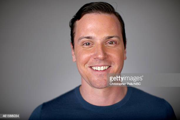 Actor Michael Mosley of Sirens poses for a portrait during the NBCUniversal TCA Press Tour at The Langham Huntington Pasadena on January 15 2015 in...