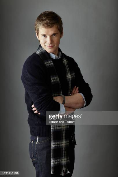 Actor Michael Nardelli is photographed for InStyle Magazine on January 23 2011 at the Sundance Film Festival in Park City Utah Photo by Larsen and...