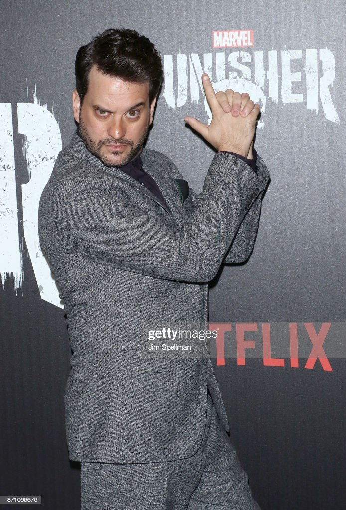 Actor Michael Nathanson attend the 'Marvel's The Punisher' New York premiere at AMC Loews 34th Street 14 theater on November 6, 2017 in New York City.