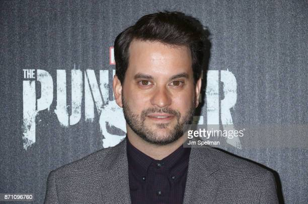 Actor Michael Nathanson attend the 'Marvel's The Punisher' New York premiere at AMC Loews 34th Street 14 theater on November 6 2017 in New York City