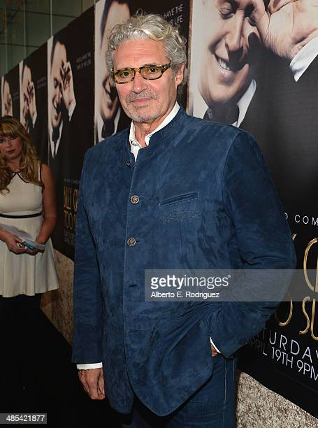 Actor Michael Nouri arrives to an exclusive presentation of HBO's Billy Crystal 700 Sundays at Ray Kurtzman Theater on April 17 2014 in Los Angeles...