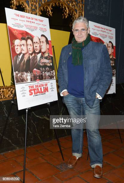 Actor Michael Nouri arrives to the Los Angeles premiere of IFC Films' 'The Death Of Stalin' held at The Theatre at Ace Hotel on March 6 2018 in Los...