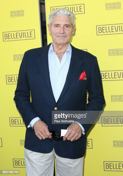 Actor Michael Nouri attends the opening night of 'Belleville' at the Pasadena Playhouse on April 22 2018 in Pasadena California
