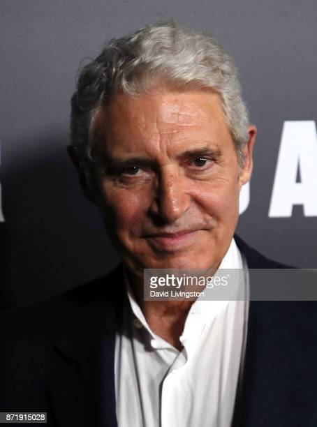 Actor Michael Nouri attends the premiere of Focus Features' 'Darkest Hour' at the Samuel Goldwyn Theater on November 8 2017 in Beverly Hills...