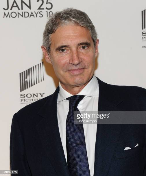 Actor Michael Nouri attends the Season 3 premiere of Damages at the AXA Equitable Center on January 19 2010 in New York City