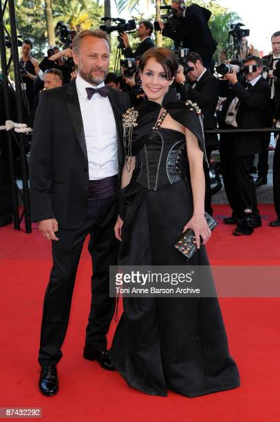Actor Michael Nyqvist and actress Noomi Rapace attend the 'A Prophet' Premiere at the Grand Theatre Lumiere during the 62nd Annual Cannes Film...
