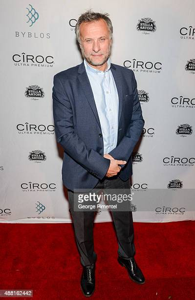 Actor Michael Nyqvist attends 'Colonia' party hosted by Ciroc and Stella during the 2015 Toronto International Film Festival at Byblos on September...