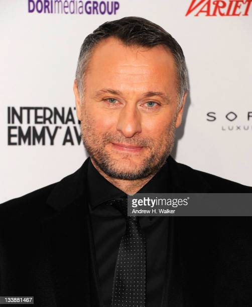 Actor Michael Nyqvist attends the 39th International Emmy Awards at the Mercury Ballroom at the New York Hilton on November 21 2011 in New York City