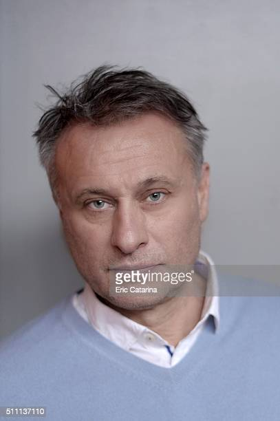 Actor Michael Nyqvist is photographed for Self Assignment on February 12 2016 in Berlin France