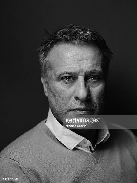 Actor Michael Nyqvist is photographed for Self Assignment on February 16 2016 in Berlin Germany