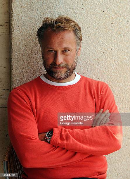Actor Michael Nyqvist poses during the 'The Girl With the Dragon Tattoo' photo call at the Scandinavian Terrace during the 62nd Annual Cannes Film...