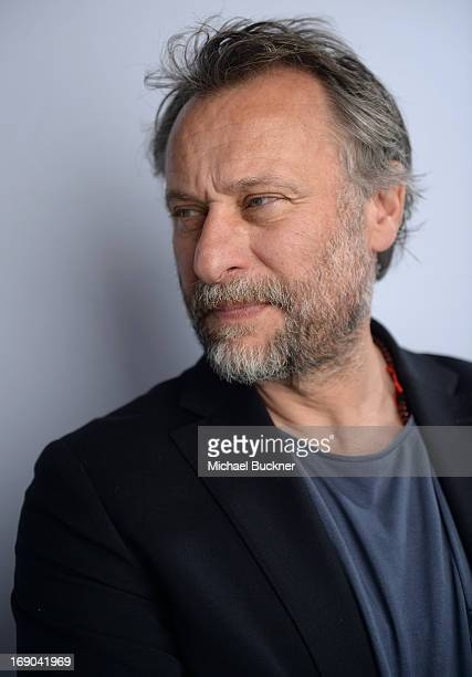 Actor Michael Nyqvist poses for a portrait at the Variety Studio at Chivas House on May 19 2013 in Cannes France