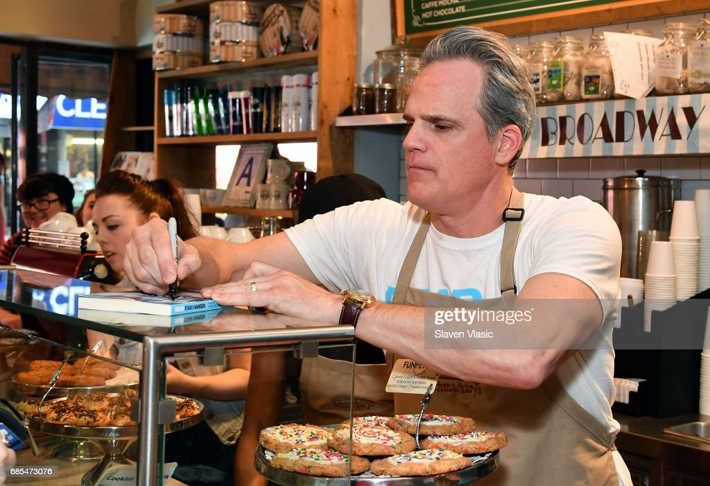 Actor Michael Park from 'Dear Evan Hansen' attends 5th Annual Broadway Bakes event benefiting Broadway Cares/Equity Fights AIDS at Schmackery's Bakery on May 19, 2017 in New York City.