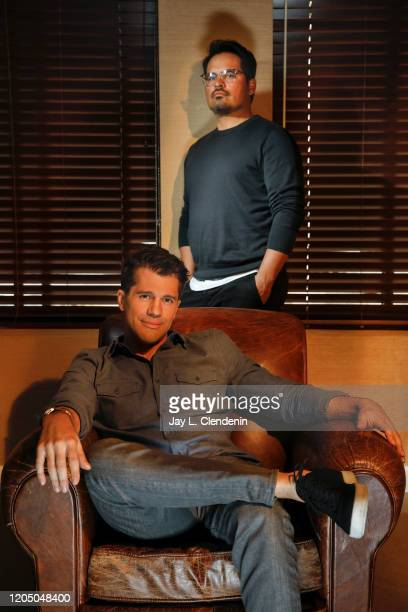 Actor Michael Peña and director Jeff Wadlow are photographed for Los Angeles Times on February 11 2020 in Santa Monica California PUBLISHED IMAGE...
