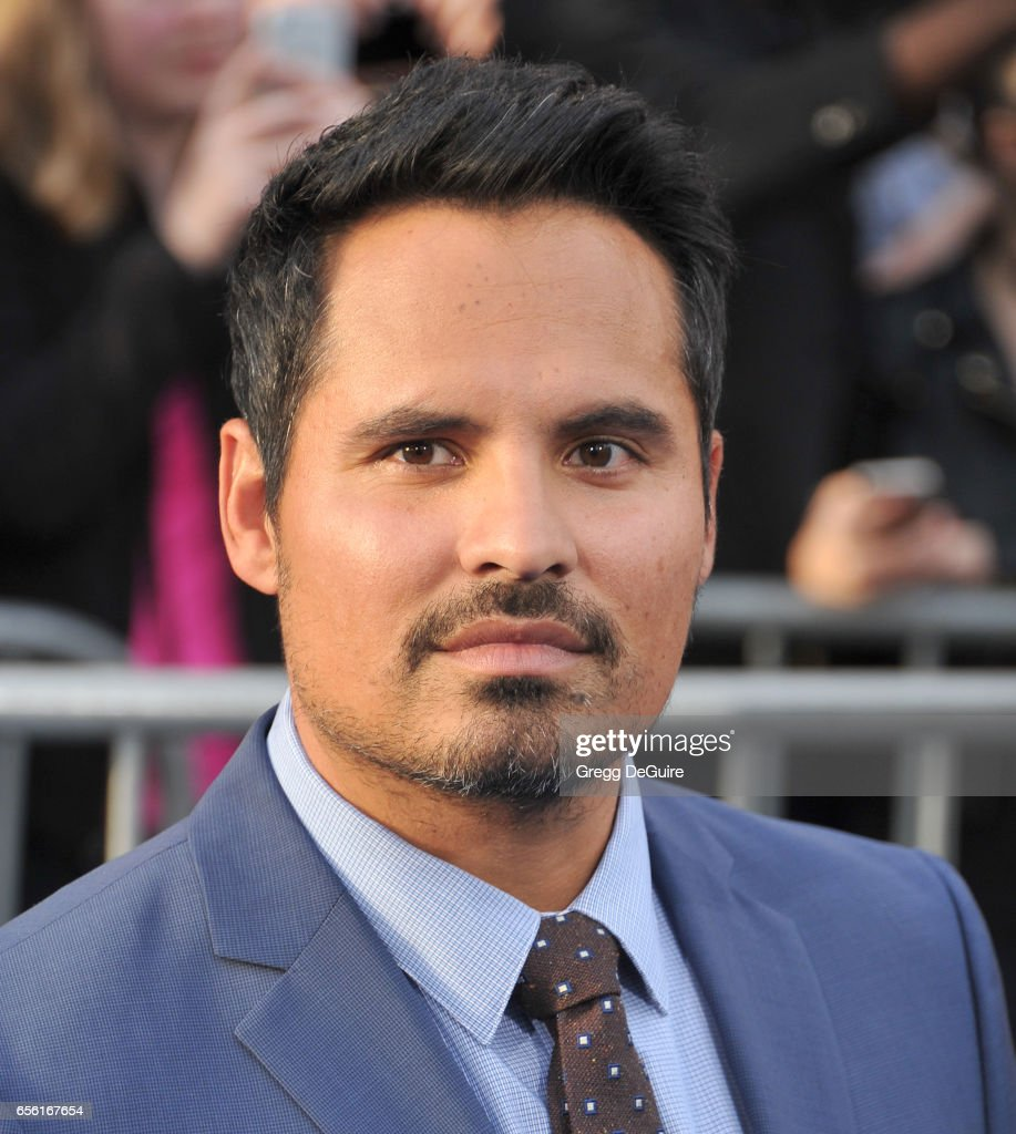 Actor Michael Pena arrives at the premiere of Warner Bros. Pictures' 'CHiPS' at TCL Chinese Theatre on March 20, 2017 in Hollywood, California.
