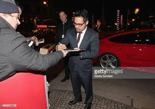Actor Michael Pena attends 'Cesar Chavez' premiere during 64th Berlinale International Film Festival at FriedrichstadtPalast on February 12 2014 in...