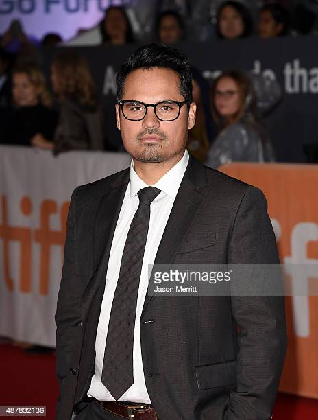 Actor Michael Pena attends The Martian premiere during the 2015 Toronto International Film Festival at Roy Thomson Hall on September 11 2015 in...