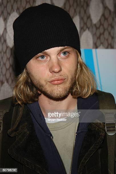 Actor Michael Pitt arrives at the 'Jailbait' screening during the 2004 Tribeca Film Festival May 3 2004 in New York City
